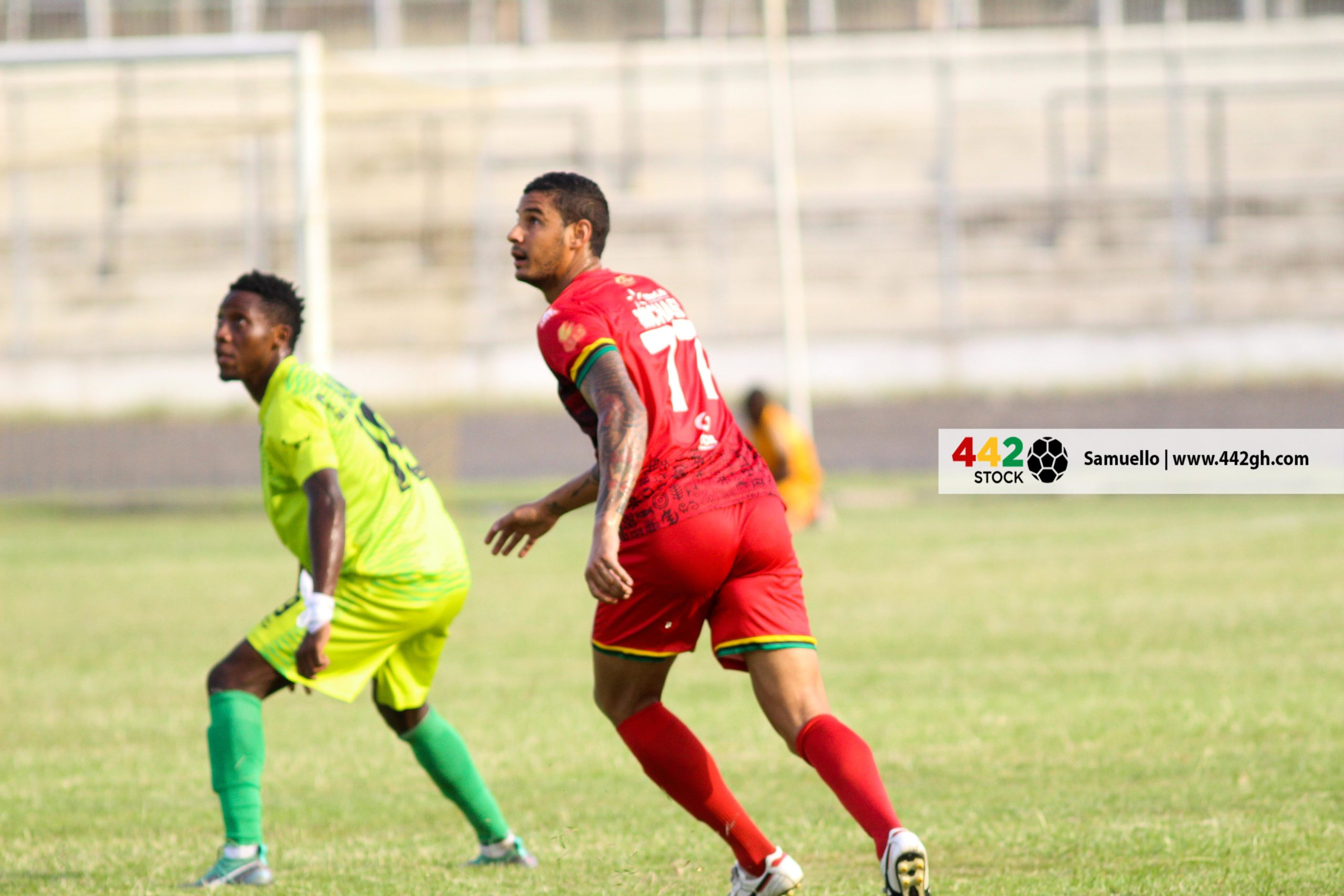 IMG 7456 scaled - PICTURE SPECIAL: Michael Vinicius' First Appearance In A Kotoko Shirt Against Bechem United