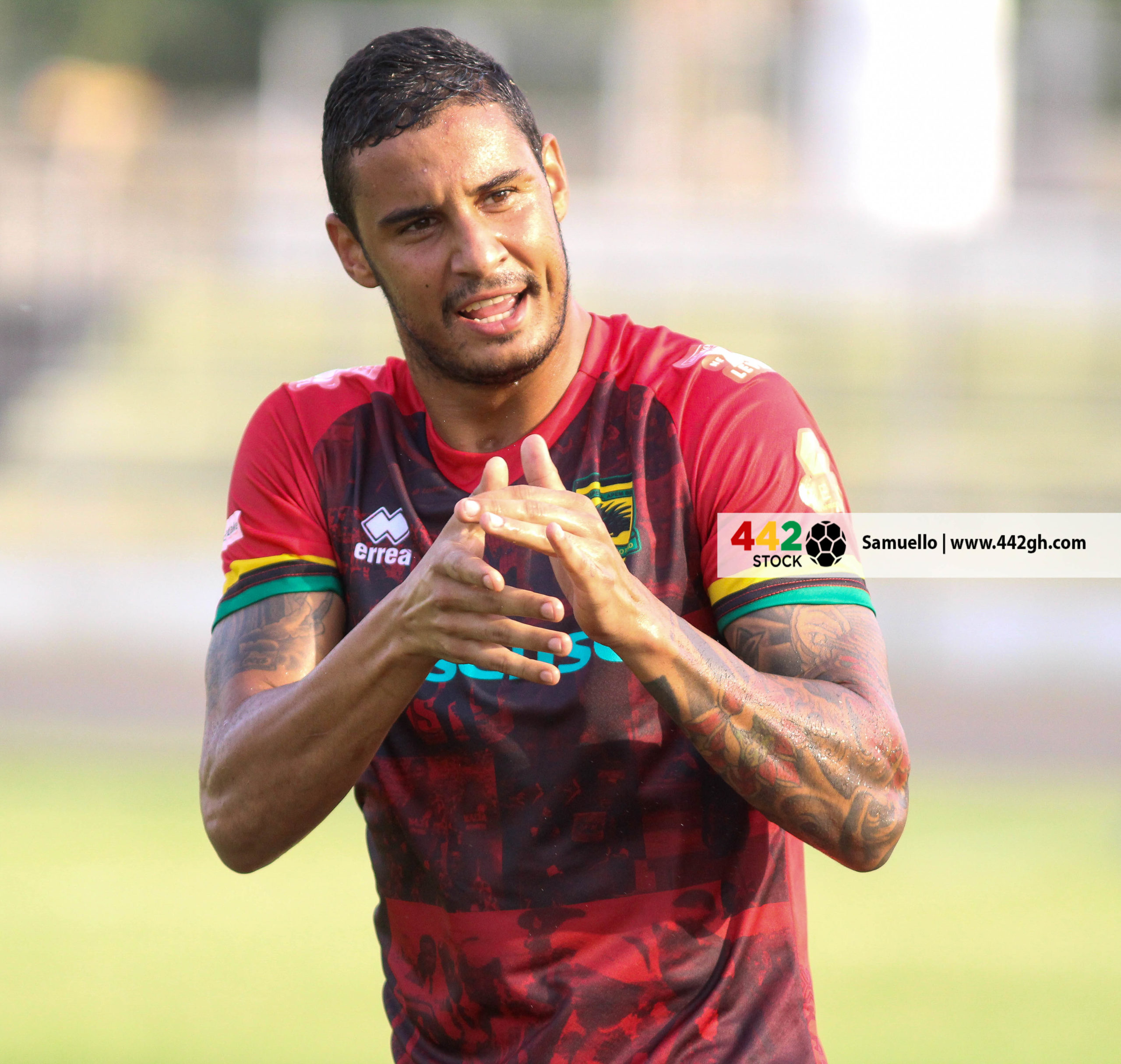 IMG 7492 1 scaled - PICTURE SPECIAL: Michael Vinicius' First Appearance In A Kotoko Shirt Against Bechem United
